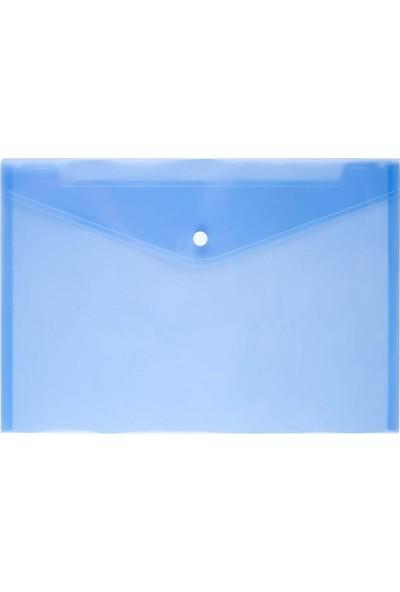 Vipex Çıtçıtlı Dosya 32 x 23 cm Mavi