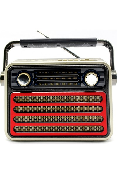Meier M-182BT Nostalji Radio USB Hafıza Kartlı