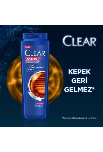 Clear Men Saç Dökülmesine Karşı Şampuan 600Ml