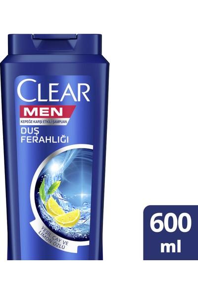 Clear Men Duş Ferahlığı Şampuan 600Ml