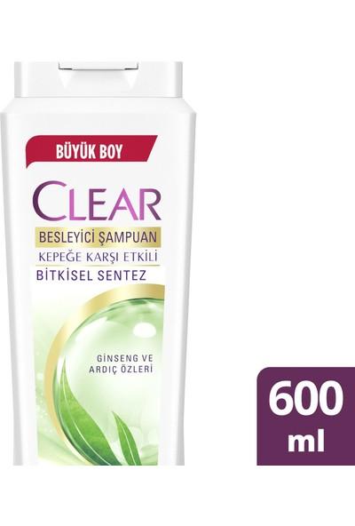 Clear Bitkisel Sentez Şampuan 600 ml