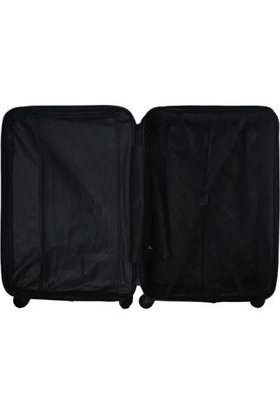 Blue Monkey BA001 3'lü Set Kabin + Orta + Büyük Boy Valiz - Siyah
