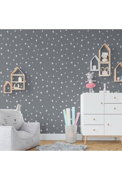 TatFast Beyaz Yıldız Yağmuru Stickeri