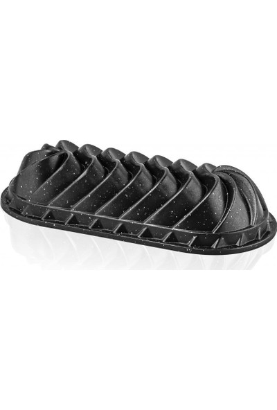 Thermoad Granit Baton Döküm Kek Kalıbı Siyah