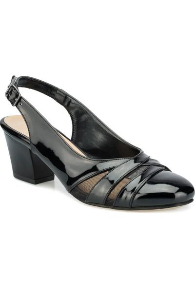 Polaris 315107.Z Siyah Kadın Gova Ayakkabı