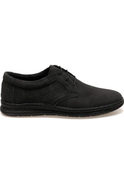 Flexall Hs-1 Siyah Erkek Klasik Ayakkabı