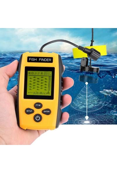 Onetick 100 Metre Taşınabilir Sensörlü Balık Bulucu Fish Finder
