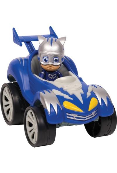 Pj Masks Power Racers Araçlar - Kedi Çocuk ile Kedi Araba