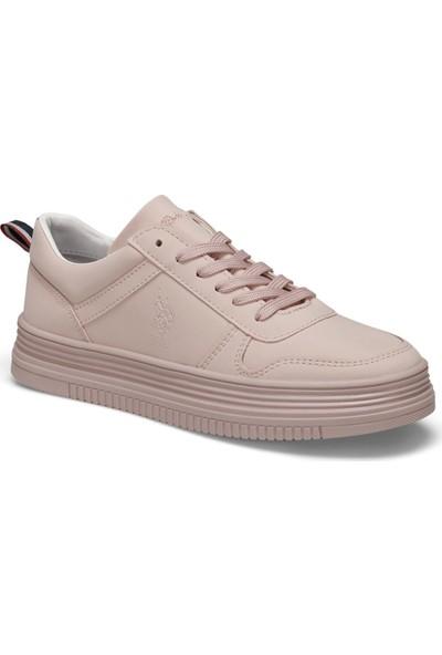 U.S Polo Assn. Surı Pembe Kadın Sneaker