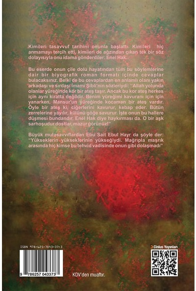 Aşk Üçlemesi 1 Darağacındaki Gonca Hallacı Mansur - Mustafa Semih Arıcı