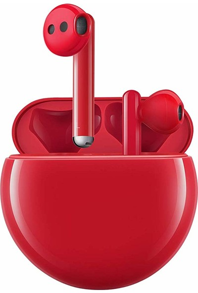 Huawei FreeBuds 3 Bluetooth Kulaklık - Kırmızı