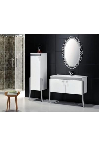 Samir Soft Banyo Dolabı 100 cm