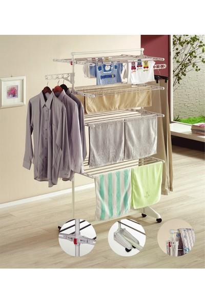 Ceraware Çamaşır Kurutma Askısı, 4 Katlı Çamaşır Kurutmalık