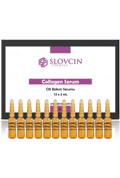 Slovcin Collagen Serum Ampul Seti