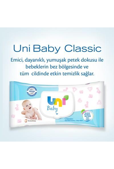 Uni Baby Classic Islak Havlu 24'lü Fırsat Paketi / 56x24 (1.344 Yaprak)