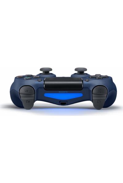 Sony PS4 Dualshock 4 V2 Gamepad Yenilenmiş Kol Midnight Blue
