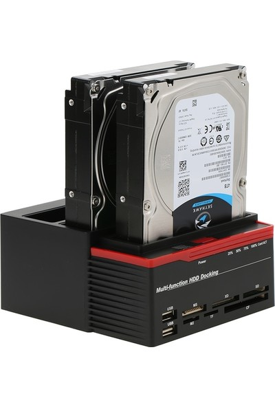 Alfais 4489 3.5 2.5 USB 3.0 Ide Sata HDD Hard Disk Dock Stand