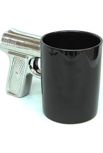 Evim Tatlı Evim Seramik Kupa Mug Love Guns Özel Tasarım