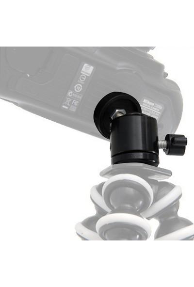 Knmaster 360 Derece Oynar Başlıklı Kamera Tripod Adaptörü