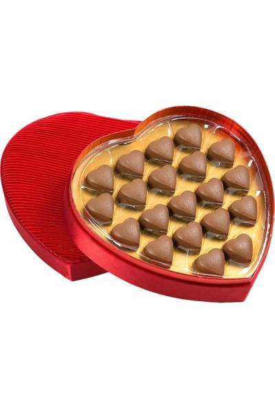 Melodi Çikolata Fantezi Kalp Çikolata 200 gr