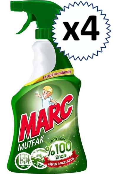 Marc Mutfak Yüzey Temizleyici Sprey 750 ml x 4