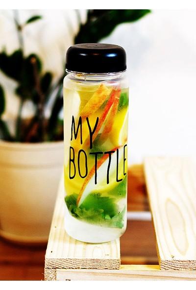Online Çarşım My Bottle Detoks Cam Matara Şişesi 500 ml