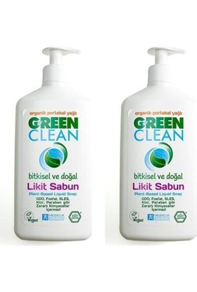 U Green Clean Organik Sıvı Sabun Portakallı 500 ml x 2 Adet