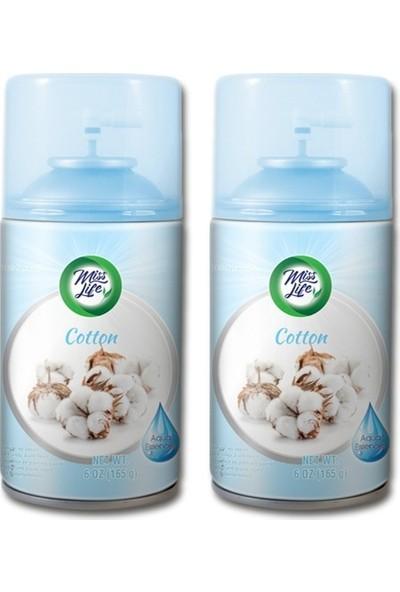 Misslife Cotton 2'li Set 250 ml