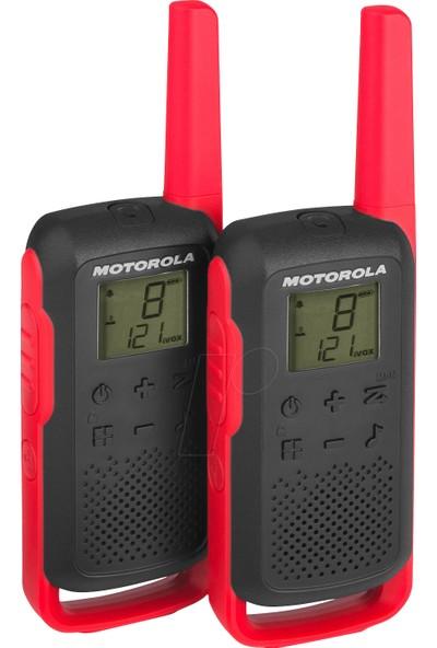 Motorola Tlkr T62 Açık Alan 8 Km Pmr El Telsizi