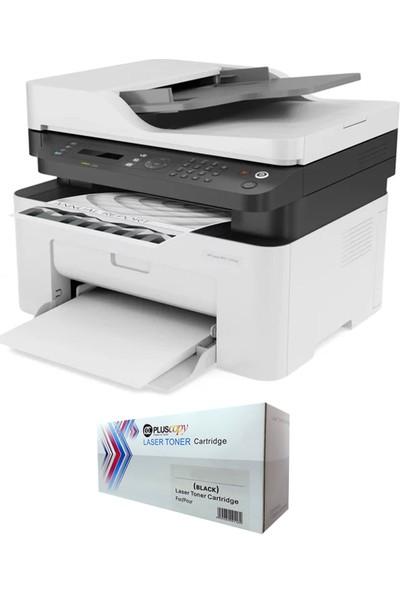 HP MFP 137FNW 4ZB84A Lazer Yazıcı Chipli + Tam Dolu Pluscopy Tonerli