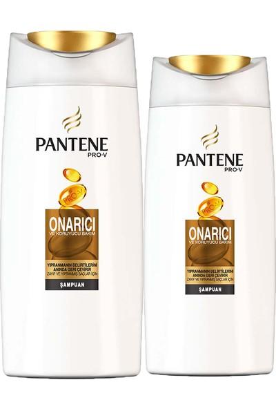 Pantene Onarıcı & Koruyucu 500 Ml Şampuan + 300 Ml Şampuan