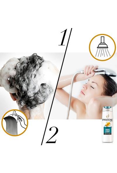 Pantene Aqualight 360 ml Şampuan + 180 ml Köpük Saç Bakım Kremi