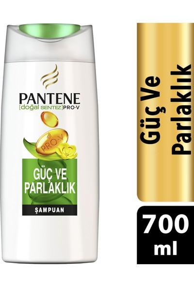 Pantene Doğal Sentez Güç ve Parlaklık 700 ml Şampuan