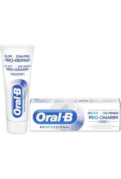 Oral-B Professional 75 ml Diş Eti ve Diş Minesi Pro Onarım Hassas Beyazlık Diş Macunu