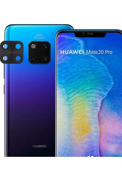 Microlux Huawei Mate 20 Pro Kamera Koruyucu Tam Kaplama