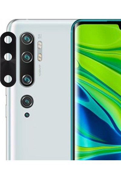Microlux Xiaomi Mi Note 10 Kamera Koruyucu Tam Kaplama