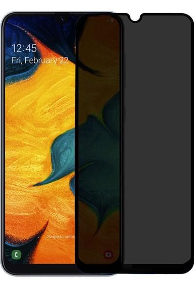 Microlux Samsung Galaxy A30 Ekran Koruyucu Gizli Hayalet Cam