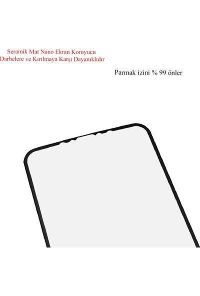 Microlux iPhone 11 Ekran Koruyucu Mat Seramik Nano 9D Tam Kaplama