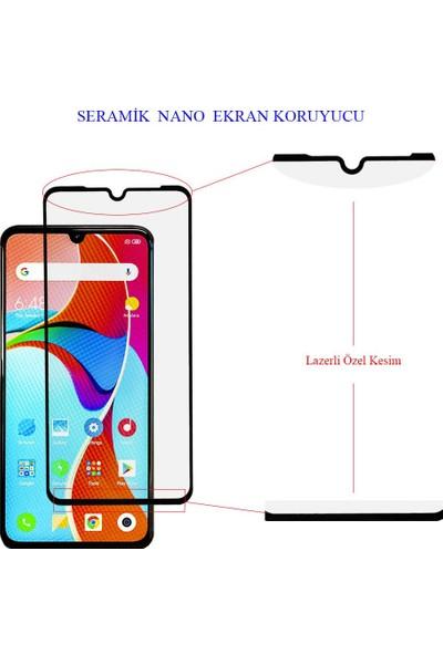 Microlux Xiaomi Mi 9 Ekran Koruyucu Seramik Nano 9D Tam Kaplama