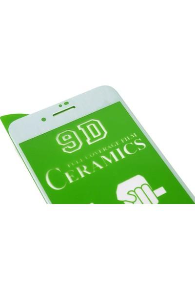 Microlux iPhone 8 Plus Ekran Koruyucu Seramik Nano 9D Tam Kaplama