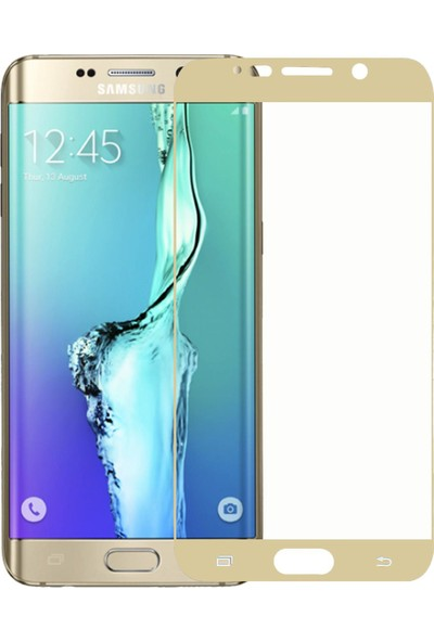 Microlux Samsung Galaxy S6 Edge Plus Ekran Koruyucu Nano Tam Kaplama