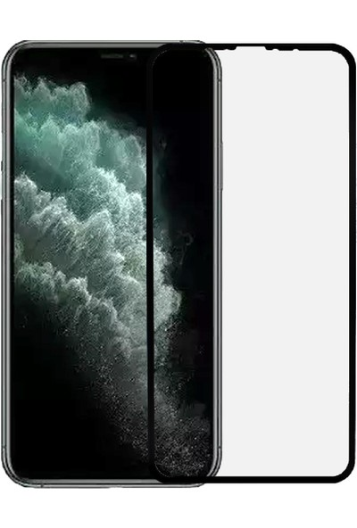 Microlux iPhone 11 Pro Max Ekran Koruyucu Seramik Nano 9D Tam Kaplama