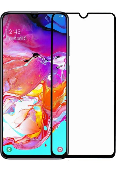 Microlux Samsung Galaxy A70 Ekran Koruyucu Seramik Nano