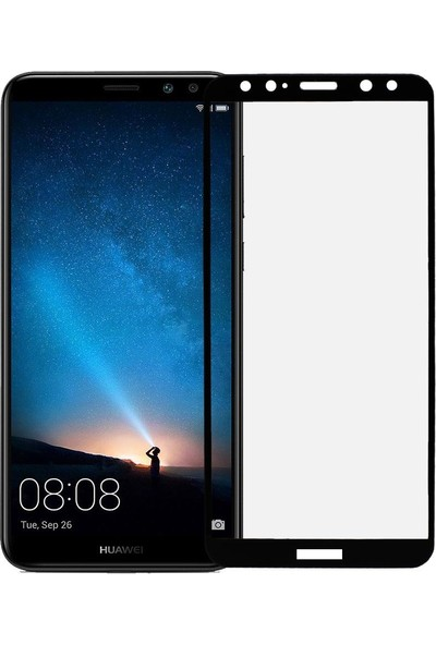 Microlux Huawei Mate 10 Lite Ekran Koruyucu Seramik Nano 9D Tam Kaplama