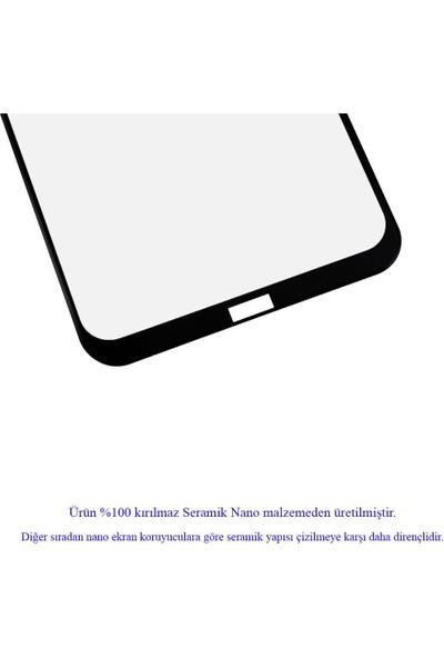 Microlux Xiaomi Redmi Note 8 Ekran Koruyucu Seramik Nano 9D Tam Kaplama