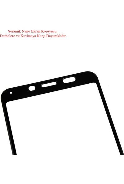 Microlux Xiaomi Redmi 7A Ekran Koruyucu Seramik Nano 9D Tam Kaplama