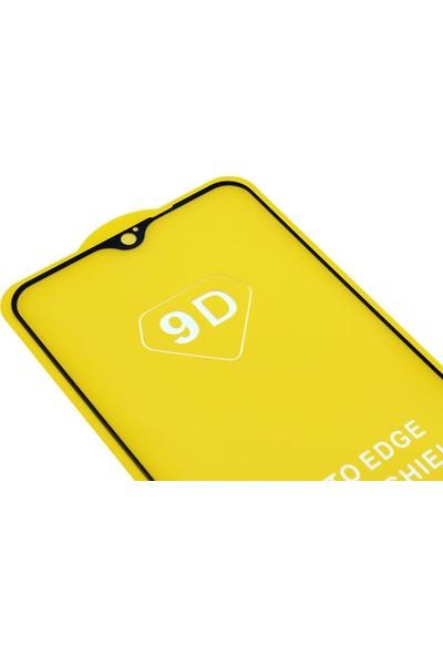 Microlux Oppo A9 2020 Ekran Koruyucu 9D Tam Kaplama