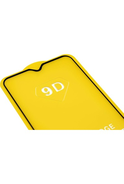 Microlux Oppo AX7 Ekran Koruyucu 9D Tam Kaplama