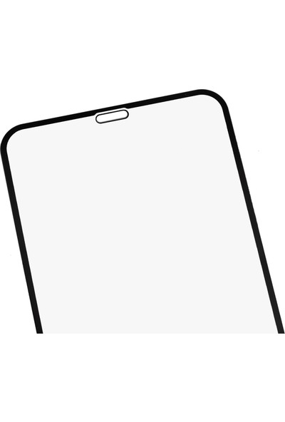 Microlux iPhone 11 Pro Max Ekran Koruyucu 9D Tam Kaplama