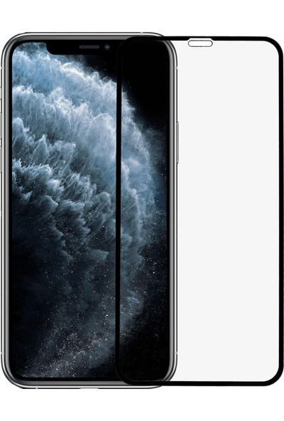Microlux iPhone 11 Pro Ekran Koruyucu 9D Tam Kaplama